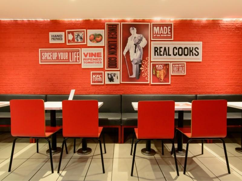 Arquitetura comercial, móveis para restaurantes