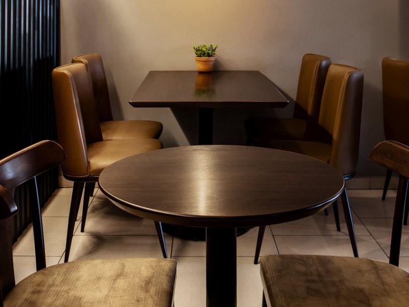 Mesas para padarias, mesas para cafeterias