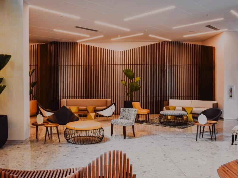 Mobiliário para hotel, móveis para hotel