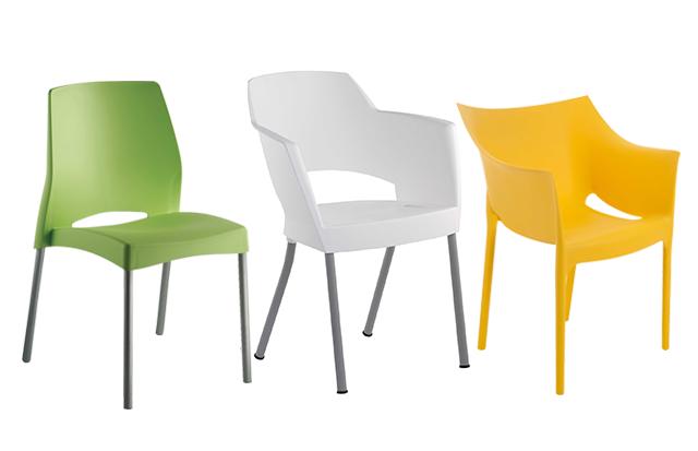 Cadeiras empilháveis – otimize espaço sem perder a beleza